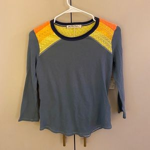 NWT embroidered tee